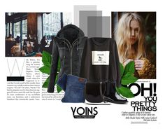 """""""Yoins"""" by brigitte-klaudia ❤ liked on Polyvore featuring Coffee Shop, Levi's, Rebecca Minkoff, yoins, yoinscollection and loveyoins"""