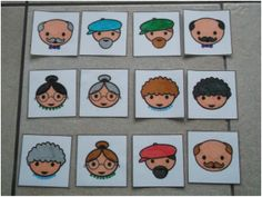 Game: Who is it. Grandma And Grandpa, Preschool, Comics, Kids, Pictures, Clay, Google, School, Languages
