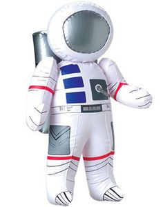 """27"""" Inflatable Astronaut NASA Space Man Toy Decoration includes Science Fiction Astronaut 27"""" inflatable Space Man as featured for unisex-adult, unisex-child, mens, womens, boys"""