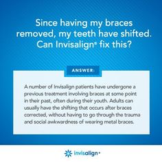 You can do Invisalign anytime, at any age!