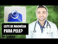 BASTA uma aplicação E ADEUS MANCHAS,MELASMA,RUGAS E CECÊ com LEITE DE MAGNÉSIA! - YouTube