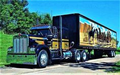 Millions of Semi Trucks Show Trucks, Big Rig Trucks, Old Trucks, Fire Trucks, Trailers, Truck Transport, Smokey And The Bandit, Trucks And Girls, Peterbilt Trucks