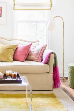 Going green: http://www.stylemepretty.com/living/2015/04/17/our-cant-live-without-rugs-shop-the-look/