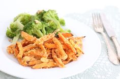 Zoete aardappelfriet met kaas – 5 OR LESS Side Dish Recipes, Side Dishes, Love Food, A Food, Healthy Diners, Veggie Dishes, What To Cook, Food Inspiration, Veggies