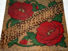 Vintage Handkerchief box .