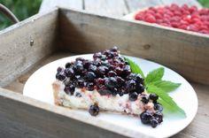 Prairie Summer Saskatoon Berry Pie (French Tart)