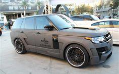 Platinum Motorsports Range Rover