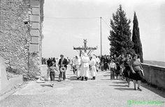 """Stilo (RC), Processione del Sabato Santo, o del """"Monumentu"""", 1976."""