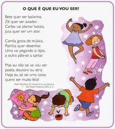 Leituras para imprimir - SÓ ESCOLA Ballet Kids, Moon Child, Disney Christmas Decorations, Special Education, Art School, Bullying, Language, Family Guy, Parenting