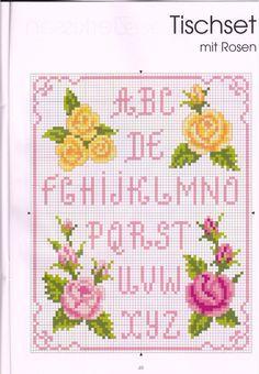 Cross stitch / Rose paternt