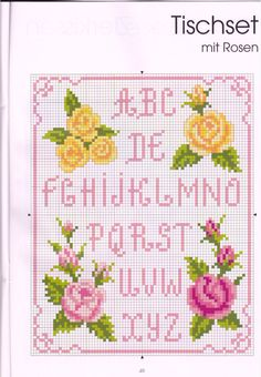 Cross stitch / Rose paternt