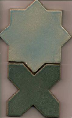 Lascaux Star and Cross Backsplash Tile