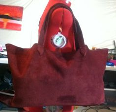 Large Raw Tote