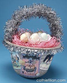 Cathie Filian: Easter Basket #2 - Dollar Store Revamp!