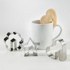 Moldes para galletas de adorno