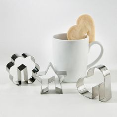 Side of the cup cookie cutters - genius!! $1.29