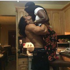 Beautiful interracial couple swept up by love #wmbw #bwwm #swirl