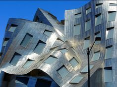 Building designed by Frank O. Gehry to house the Centre for Brain Research in Las Vegas, Nevada.