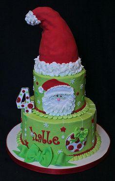 Santa cake... super cute!