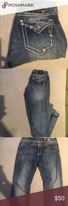 Miss Me Jeans Cute lightly worn Miss Me jeans! Miss Me Jeans