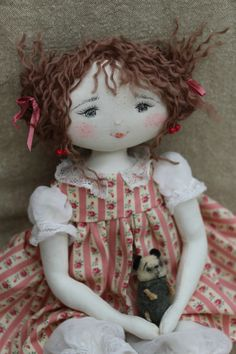 IMG_3656 Doll Crafts, Sewing Crafts, Doll Toys, Baby Dolls, Homemade Dolls, Sewing Dolls, Waldorf Dolls, Hello Dolly, Soft Dolls
