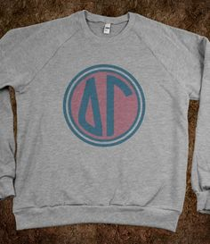 Delta Gamma Crew Neck Sweatshirt - Delta Gamma Monogram CLICK HERE to purchase :)