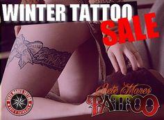 WINTER TATTOO SALE  En estas #vacaciones de #Invierno todos los #tatuajes #femeninos solo desde $20,000!  Tatuajesprat@gmail.com www.TatuajesPrat.CL  Promoción válida hasta el 28/07/17
