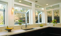Garden windows bring fun and outdoor life into your kitchen. Build one and watch your herbs and plants unfold all summer, fall, and even through the winter!
