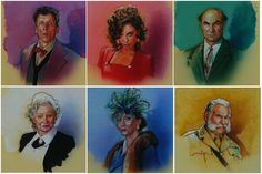 Clue / Parker Brothers vignettes on inch boards by Drew Struzan. Character Costumes, Game Character, Cluedo, Dramatic Background, Clue Party, Clue Games, Game Themes, Star Wars Film, Dinner Themes