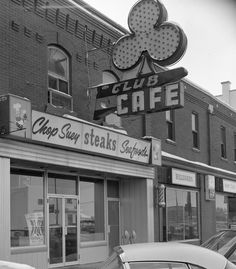 The old Club Cafe and adjacent billiard parlour (pool hall) 1968 The basement of the pool hall had a bowling alley. Red Deer, Parlour, Old Buildings, Historical Photos, Bowling, Hot Rods, Basement, Favorite Things, The Past