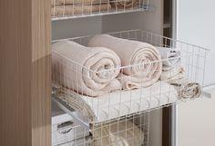 Październik przynosi coraz chłodniejsze dni. Puchate ręczniki, idealnie poukładane w garderobie dzięki koszom Rejsu – to nasz rozgrzewa ;)