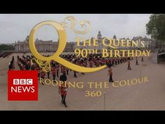 Trooping the Colour: Queen's eye view  (360 video) BBC News