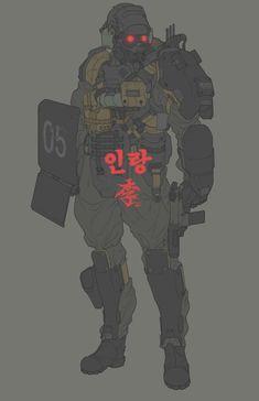 Trendy Ideas For Science Fiction Concept Art Cyberpunk Armor Concept, Concept Art, Character Concept, Character Art, Science Fiction, Science Art, Jin Roh, Cyberpunk Kunst, Collections D'objets
