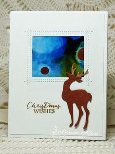 Stamping with Klass: Little Reindeer. Vary focal