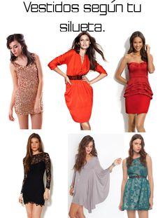 6. Para mujeres de estatura petite o bajitas:  Al tener una estatura o contextura pequeña lo vestidos ideales para ti son los de corte imper...