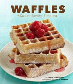 Recipe: Bacon waffles, need we say more? This is sweet, savory and completely brilliant!