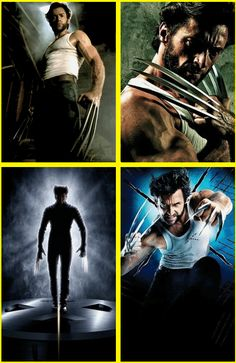 """And then there's also this guy....  """"Wolverine"""" Hugh Jackman"""
