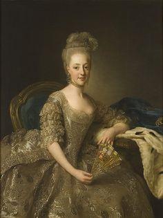 chèquier arabe | Ritratto della principessa Edvige Elisabetta Carlotta di Svezia