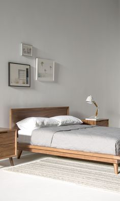080825 0 beds pinterest muji bed and bedrooms for Minimalist bedroom for teenager