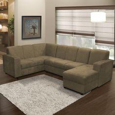 Os sofás de canto são ideais para aproveitar ainda mais o espaço e proporcionar mais conforto.