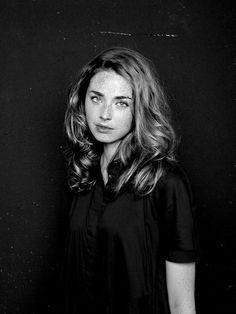 Freya Mavor. #Beauty #Freckles #Skins