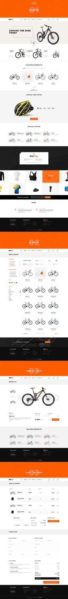 Bikehop by Marek Leschinger on @creativemarket