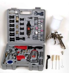 Tool Force BLKIT75 75 Piece Pnuematic Tool Kit * Want to know more, click on the image.
