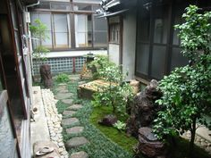 178 best garden - japanese - tsubo niwa images on Pinterest in 2018 Zen Garden Design Small Space Flower Html on