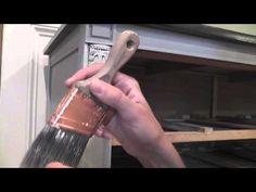 Dry Brush Painting Furniture Tutorial