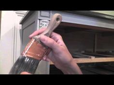 Dry Brush Painting Furniture Tutorial - YouTube
