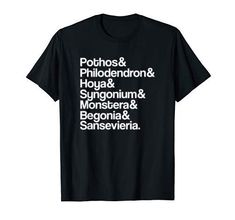 Pothos Philodendron Hoya Syngonium Monstera Houseplant Tee Graphic tees outfits and new graphic t shirts! we're all about laid back styling and weekend vibes! Graphic Tee Outfits, Cute Graphic Tees, Graphic Tee Shirts, Funny Shirt Sayings, Shirts With Sayings, Laid Back Style, Slogan Tee, Mama Shirt, Mom Outfits