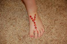 Footless (Barefoot) Sandals}