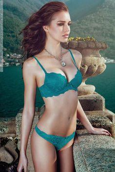 Iris Kavka for INCANTO lingerie lookbook (Fall-Winter 2014) photo shoot