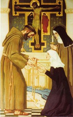 Catholic Religion, Catholic Saints, Religious Images, Religious Art, St Francisco, St Francis Assisi, Clare Of Assisi, St Clare's, Christian Pictures